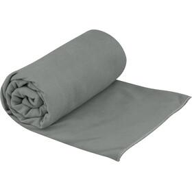 Sea to Summit Drylite Handdoek Antibacterieel L, grijs